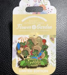 The Three Caballeros Flower & Garden Pin