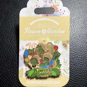 The Three Caballeros Flower & Garden Pin