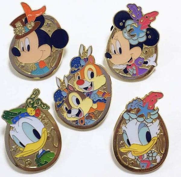 Tokyo DisneySea Easter 2018 Game Pins