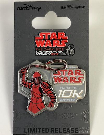 10k Star Wars Dark Side 2018 Pin