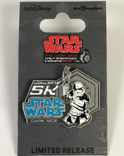 5k Star Wars Dark Side 2018 Pin