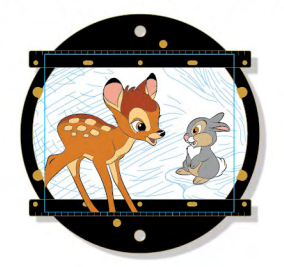 Animation Disc Mini Jumbo Pin - Bambi