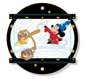 Animation Disc Mini Jumbo Pin - Fantasia