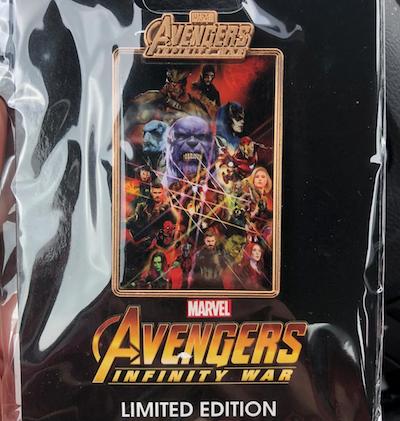 Avengers Infinity War Group DSSH Pin