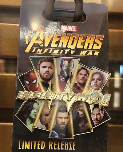 Avengers Infinity War Limited Release Pin