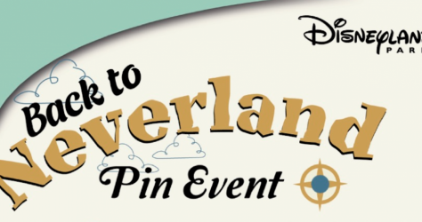 Back to Neverland Pin Event