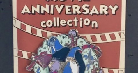 Cast Member Movie Anniversary The Sword in the Stone Pin
