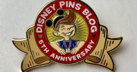 DPB 5th Anniversary Pin