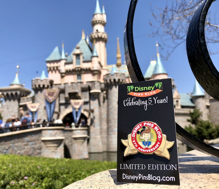 Disney Pins Blog 5th Anniversary