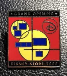 Disney Store Grand Opening Pin