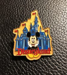 Disneyland Mickey Mouse Pin