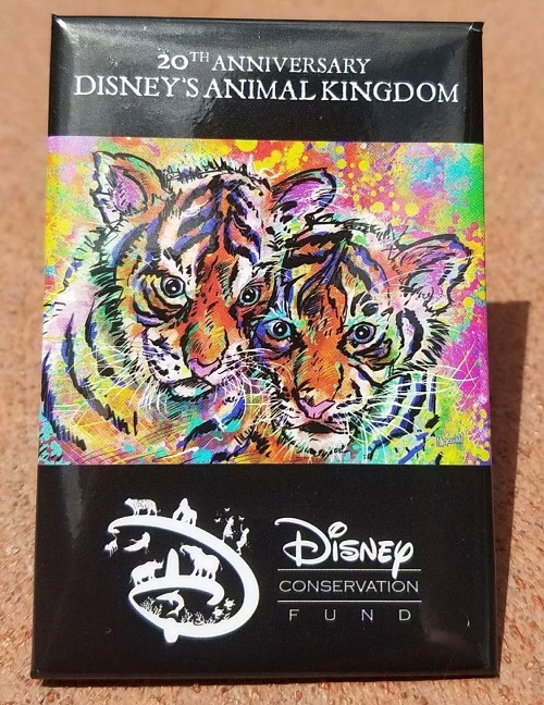 Disney's Animal Kingdom 20th Anniversary Button