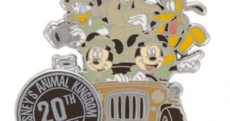 Disney's Animal Kingdom 20th Anniversary Pin