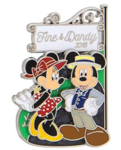 Fine & Dandy 2018 Disney Pin