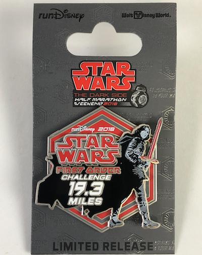 First Order Challenge Star Wars Dark Side 2018 Pin