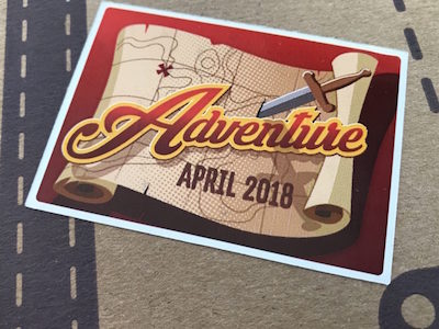 Funko Disney Treasures Adventure April 2018
