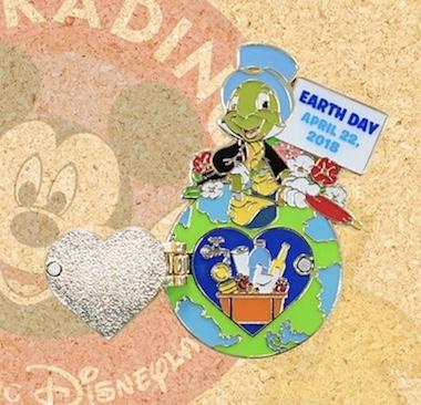 Hong Kong Disneyland Earth Day 2018 Pin