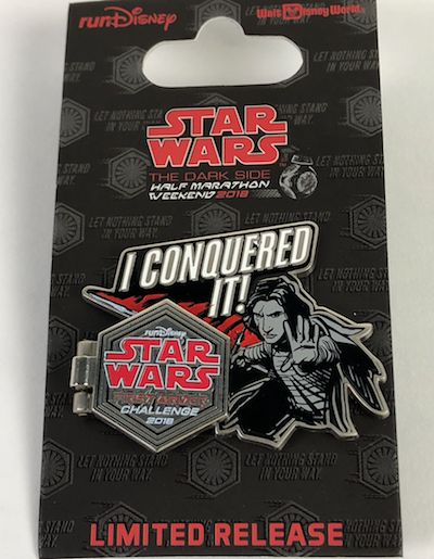 I Conquered It First Order Challenge Star Wars 2018 Pin