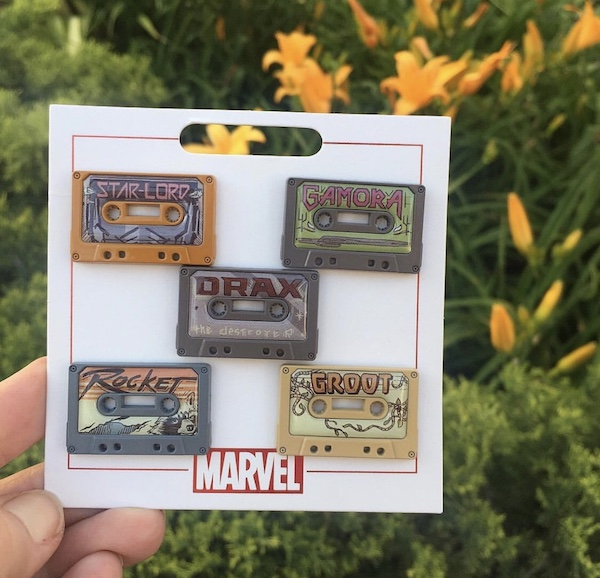 Marvel's Guardians of The Galaxy Pin Set