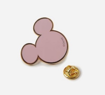 Pink Mickey Icon Pin