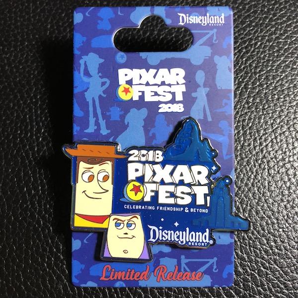 Pixar Fest Limited Release Pin