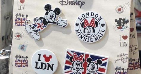 Primark London Disney Pin Set