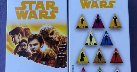 Solo Star Wars Mystery Pin Set