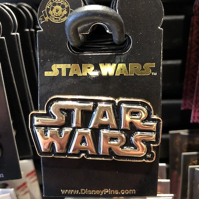 Star Wars Logo Pin