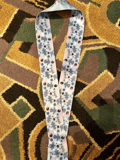 Stitch Wide Lanyard