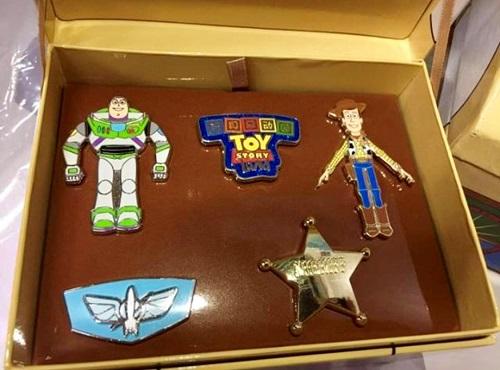 Toy Story Land Box 5 Pin Set