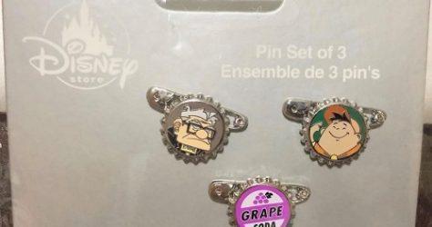 UP Bottle Cap Pin Set