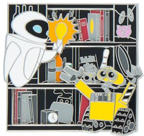 WALL-E and Eve Limited Edition Slider Pin