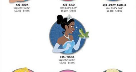 Disney Heroines WDI Pins – Set 4