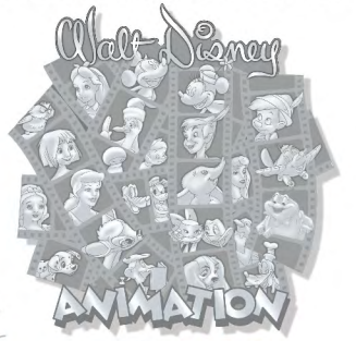 Walt Disney Animation 3D Sculpted Jumbo Pin