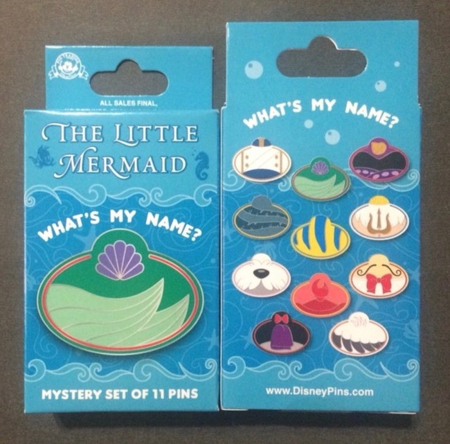 What's My Name 'The Little Mermaid' Pin Collection