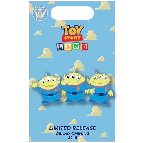 Aliens Toy Story Land x BoxLunch Pin