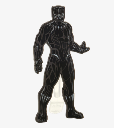 Black Panther Character Pin