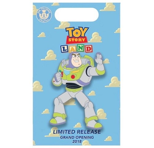 Buzz Lightyear Toy Story Land x BoxLunch Pin