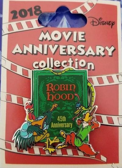 Cast Member Movie Anniversary Robin Hood Pin