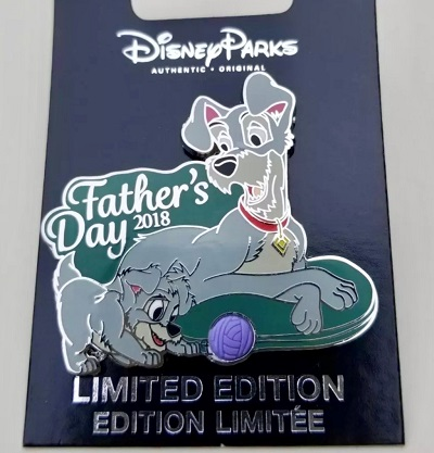 Father's Day 2018 Disney Pin