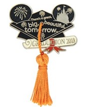 Graduation 2018 Disney Pin