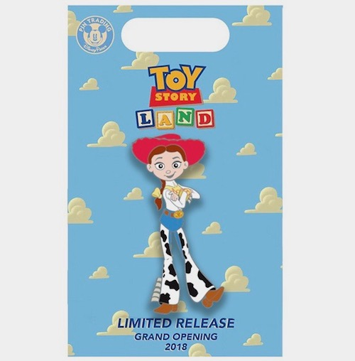 Jessie Toy Story Land x BoxLunch Pin