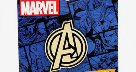 Marvel Avengers Logo Pin - Hot Topic