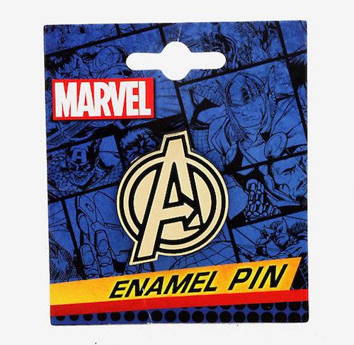 Marvel Avengers Logo Pin - Hot Topic