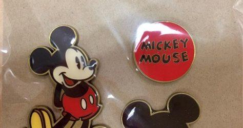 Mickey Mouse Target Pin Set #3