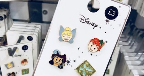Primark Peter Pan Disney Pin Set