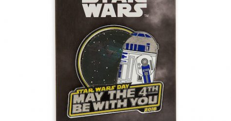 R2-D2 May the 4th Be With You 2018 Pin - Limited Release