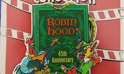 Robin Hood 45th Pin