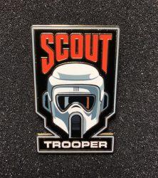 Scout Trooper Disney Pin