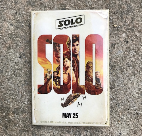 Solo A Star Wars Story Button